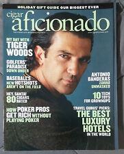 CIGAR AFICIONADO GENTLEMANS MAGAZINE 2005 DECEMBER ANTONIO BANDERAS TIGER WOODS