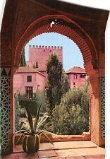 BT15302 Vista desde la torre de las damas alhambra Granada         Spain