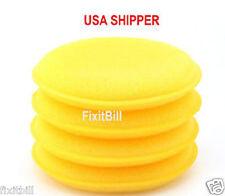 "4 - 4"" Waxing Polish Foam Sponge Car Wax Applicator Pad Cleaning & Detailing"
