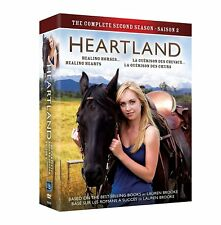 HEARTLAND: Complete Second Season 2 DVD 2010 Canadian TV Series  *BRAND NEW*