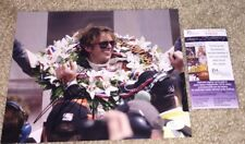 DAN WHELDON SIGNED 2011 INDY 500 8X10 PHOTO INDIANAPOLIS WINNER *VERY RARE* JSA