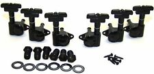 Guitar Parts WILKINSON ROTOMATIC - DECO - 3 Per Side 3x3 - TUNERS SET - BLACK