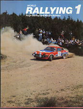 World Rallying Annual No. 1 1978 Season by Holmes & Bishop Published 1979