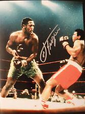 JOE FRAZIER In Person Signed 16x12 Heavyweight Boxing Champion PHOTO PROOF  COA