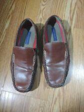 Tommy Hilfiger Men's Loafers Moccasins Brown Slip-On 12M (damaged-slightly)