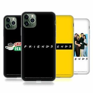 OFFICIAL FRIENDS TV SHOW LOGOS SOFT GEL CASE FOR APPLE iPHONE PHONES