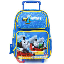 Thomas Tank Engine Friends Large School Roller Backpack 16in Rolling -No1 Thomas