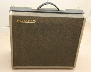 Farfisa 8 - 1960's Valve Tube Electric Guitar Amplifier - c.1964 - Serviced