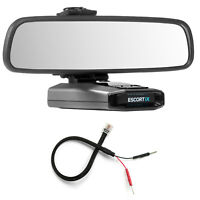 Mirror Mount Bracket + Mirror Wire Power Cord for Escort IX EX Max360C
