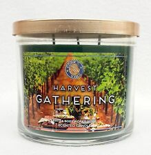 Bath & Body Works Home HARVEST GATHERING 3-Wick Candle 14.5 oz