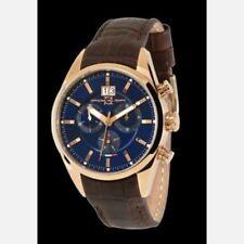 OFFICINA DEL TEMPO BLUE ELEGANCE CRONO ROSE TONE 1037/130BGM  WRIST WATCH