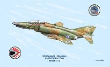 McDonnell - Douglas F-4D Phantom Aircraft Print US Air Force