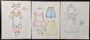Baby Juli Paper Doll by Michele De Leeuw, Mag. PD. 2006