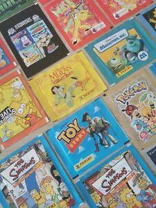 Various Merlin,Panini,Topps, 1999s-2000 TV & Film Sticker Packets Sealed