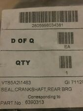 Bedford  Crankshaft rope oil seal  6390313