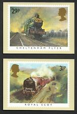 1985 GB. - PHQ Postcards - Short Set Famous Trains - Mint and Very Clean.