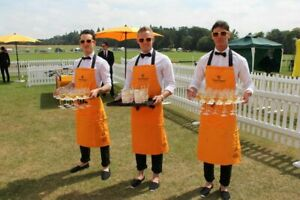 VEUVE CLICQUOT APRON VCP - NEW IN PACKAGE- NEVER OPENED (TABLIER) REIMS FRANCE