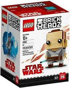 LEGO 41602 BrickHeadz: Rey - 119 Pcs - New. Sealed. Retired.