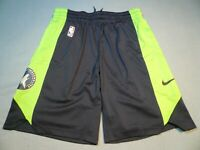 Nike Minnesota Timberwolves Practice BRAND NEW Shorts NWT NBA dri fit Wolves