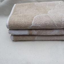 EGERIA drei Frottee-Badetücher beige-sand weiß 75 x 150 cm NEU
