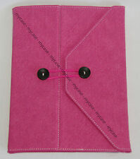 PU Leather Case Cover With Stand For Apple iPad 2 2st or 3 3st Generation Pink