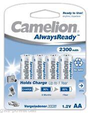 20 x Camelion AA HR6 NiMH Mignon 2300mAh Akku im Blister Always Ready 1,2V