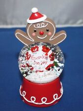 "Hallmark snowglobe "" Sprinkle the Joy"""
