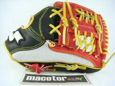 "SSK Special Pro Order 11.75"" Infield Baseball Glove White Black Red H-Web RHT"