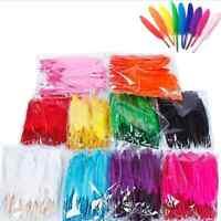 50Pcs Beautiful Goose Feather 10-15CM Multi-color DIY Home Party Decoration Tool