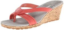 PATAGONIA Solimar WEDGE Cork HIGH HEEL Slip-On SLIDE SANDALS Shoes WOMENS size 9