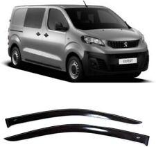 For Peugeot Expert III 2016- Side Window Visors Guard Vent Deflectors