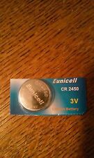 Eunicell Cr2450 3V 540mha Lithium Battery