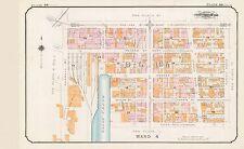 1912 CHAS. E. GOAD VANCOUVER, CANADA, CITY HALL, CARNEGIE LIBRARY COPY ATLAS MAP