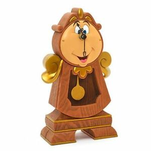 The Beautiful And The Beast Cogsworth Watch IN Pendulum Clock Watch DISNEY #1