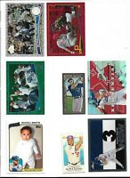 RUSSELL MARTIN (LOS ANGELES DODGERS) - 17 INSERT/PARALLEL BASEBALL CARD LOT