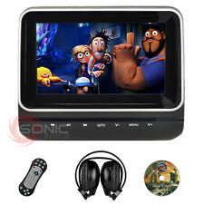 "Plug-and-Play Car HD 7"" Headrest DVD Player/Screen USB/SD Ford Focus/Mondeo/Kuga"