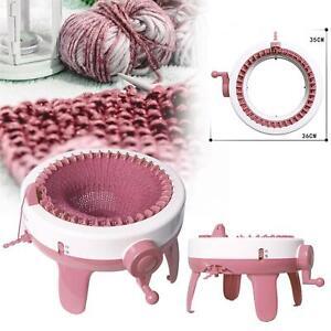 Knitting Machine 40 / 48 Needles Knitting Loom Scraf W/Row Counter Smart Weaving