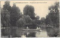 95 - cpa - Enghien-les-Bains - Promenade sur le lac du nord (H3984)