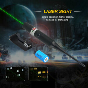 Laser Boresighter Kits For .177 to .50 Caliber Green Dot Bore Sight w/Switch