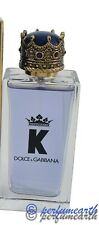 K By Dolce & Gabbana  For Men(Unbox) 3.4/3.3 oz Edt Spray Same As Picture