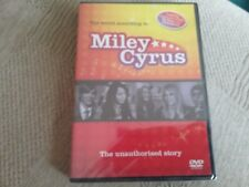 miley cyrus the unauthorised story dvd new freepost