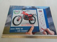brochure depliant originale Fantic Motor trial 125 cc professional codice FM 237