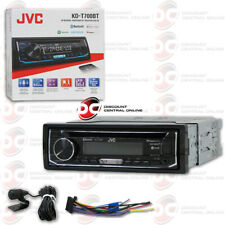 JVC KD-T700BT 1-DIN CAR AUDIO CD BLUETOOTH STEREO RECEIVER WITH PANDORA CONTROL