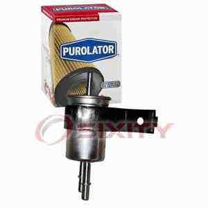 Purolator Fuel Filter for 2001 Ford Taurus Gas Pump Line Air Delivery im