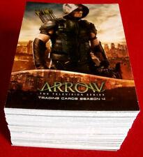 ARROW - Season 4 - Complete Base Set (72 trading cards) - Cryptozoic 2017
