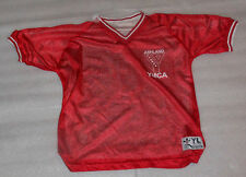 Ashland Sports YMCA Red White Reversible Soccer Jersey Size Youth Large