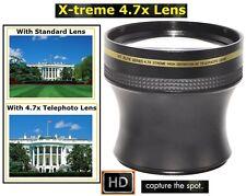 Xtreme Telephoto 4.7x HD Lens for Sony SLT-A37K SLT-A37 SLT-A65V SLT-A65 SLT-A55