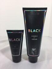 Bath & Body Works BLACK Cosmic Cream Lot One 8oz. & One 2.5oz NEW Retired