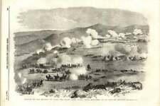 1855 BATTAGLIA SULLE ALTURE DI KARS combattimento vicino TAMAS si è-Tabia