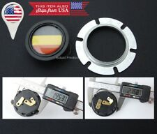 """German Flag Horn Button For MOMO SPARCO GRANT QUANTIES Steering Wheel 2"""" Hole"""